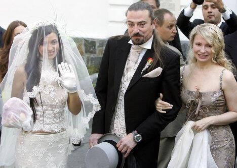 Юлия Тимошенко на свадьбе дочери Евгении
