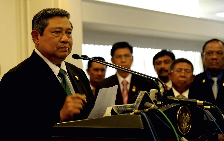 Tổng thống Indonesia Susilo Bambang Yudhoyono - REUTERS