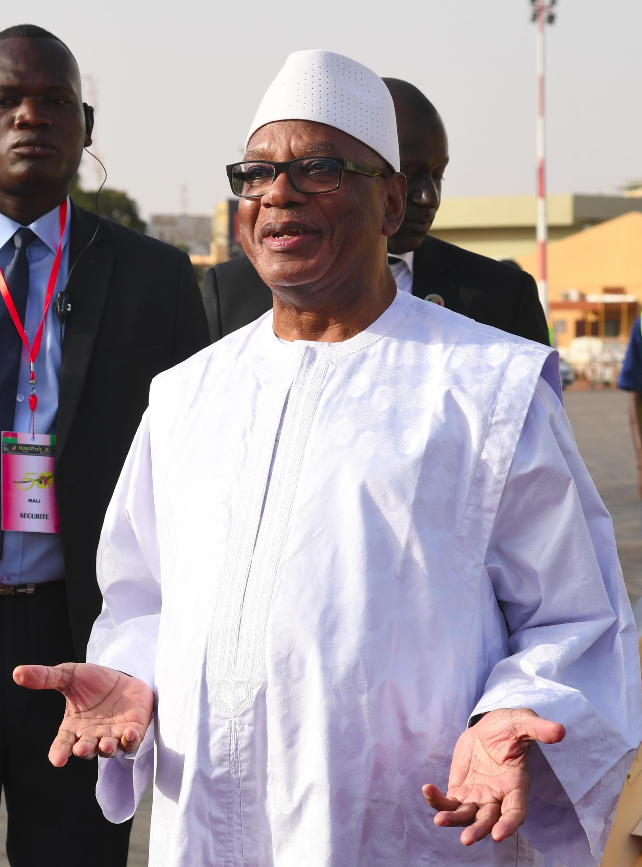 Ibrahim Boubacar Keita, shugaban Mali.