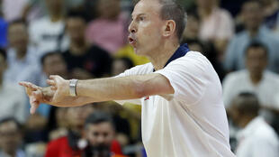 Vince Collet is trying to steer France into their first basketball world cup final.