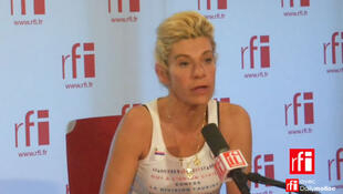 Frigide Barjot, porte-parole du collectif d'opposants La Manif pour tous.