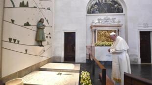 Paparoma Francis yayin ziyara da ya kai Portugal
