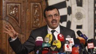 Ali Larayedh, en conférence de presse à Tunis, le 29 juillet 2013.