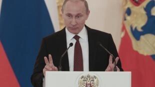 Shugaban Rasha Vladmir Putin