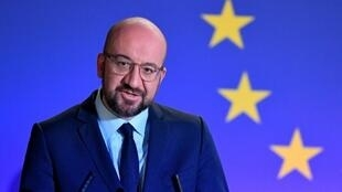 O  presidente do Conselho  Europeu, Charles Michel.