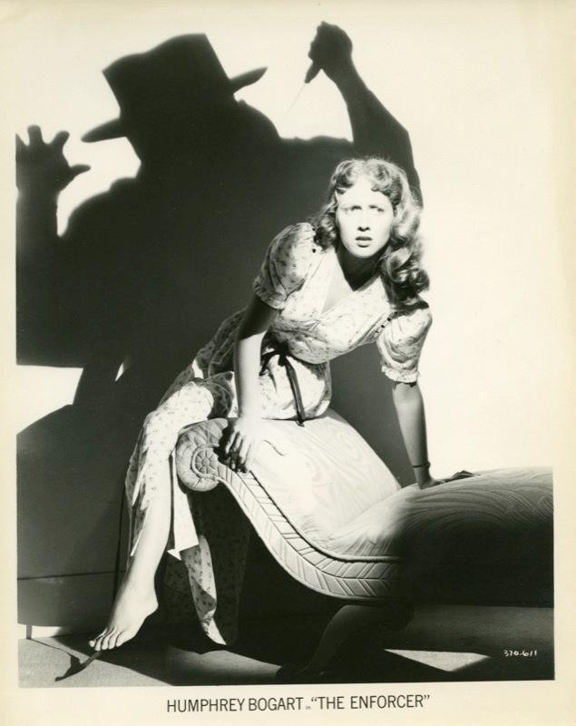 Bretaigne windust, la Femme à abattre, 1951, «The Enforcer 1951»