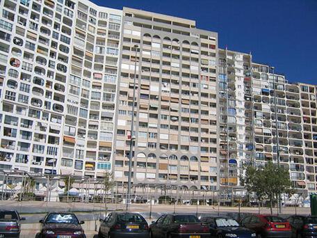 Un immeuble de la banlieue parisienne