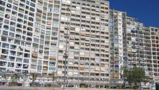 Un immeuble de la banlieue parisienne.