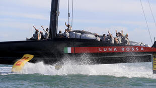 A jubilant Luna Rossa will race holders Team New Zealand for the America's Cup after beating Ineos Team UK