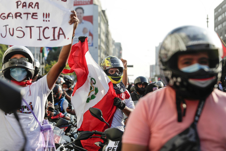 Peru protestas 15 de noviembre