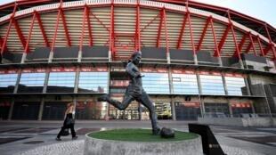Le Stade de la Luz, à Lisbonne, où aura lieu la finale de Ligue des champions 2020, le 23 août prochain.