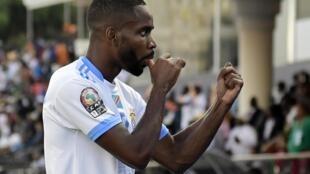 Le Congolais Cédric Bakambu lors de la CAN 2019.