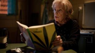 """Bernadette Lafont no filme """"Paulette"""", que estreou em janeiro passado."""