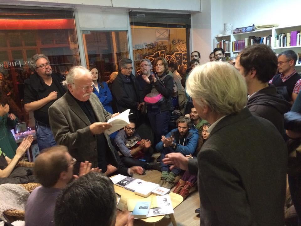 Inauguración de la Librería Cien Fuegos situada en el 4 de la rue de la Forge Royale - Paris XI, 25 de septiembre de 2015