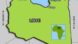 La Libye possède plus de 4000 km de frontières terrestres. (Carte de la Libye).