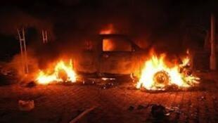 Libya a daidai lokacin da ake gwabza fada kusa da birnin Tripoli