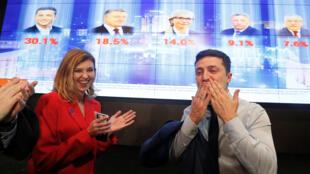 В первом туре за Владимира Зеленского проголосовали чуть более 30% избирателей