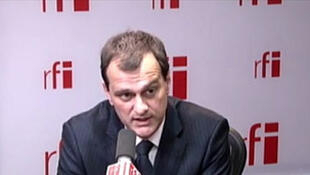 Louis Aliot, vice-président du Front national.