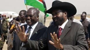 Rais Salva Kiir na hasimu wake Riek Machar, mazungumzo yakitazamiwa kuanza