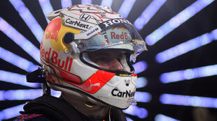 Speed king: Max Verstappen smiles after claiming pole position