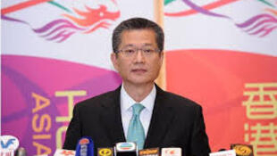 香港財政司司長陳茂波,日期不詳。