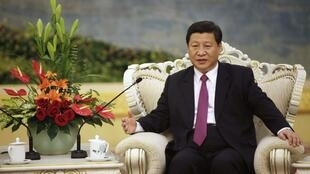 Le vice-president chinois, Xi Jinping, le 29 août 2012.