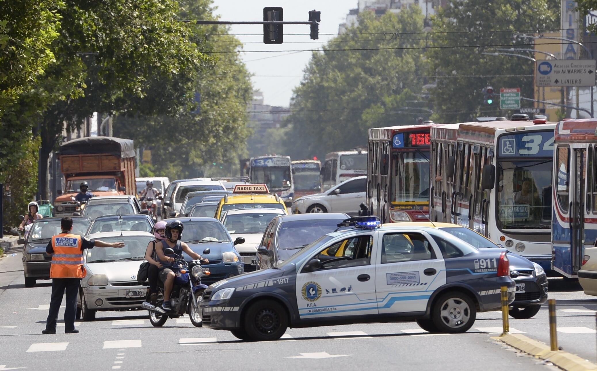 La inseguridad figura entre las mayores preocupaciones de los argentinos.