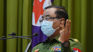 Myanmar's military spokeperson raised the spectre of staging a coup as it ramped up demands for an investigation into alleged voter fraud during last year's election
