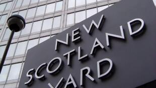 Le siège de Scotland Yard à Londres.