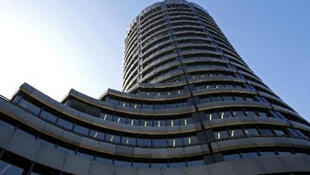 The Bank for International Settlements in Basel, Switzerland