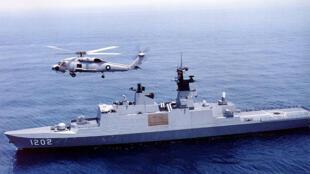 Tàu Kang Ding của Hải quân Đài Loan, do Pháp sản xuất.