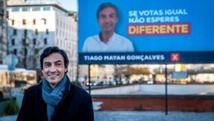 Tiago Mayan, candidato Liberal à Presidência da República.