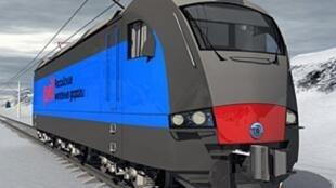 Электровоз фирмы Alstom