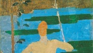 """""""صیاد"""" اثر """"کِر اگزاویه روسل"""" نقاش فرانسوی قرن نوزده و بیست"""
