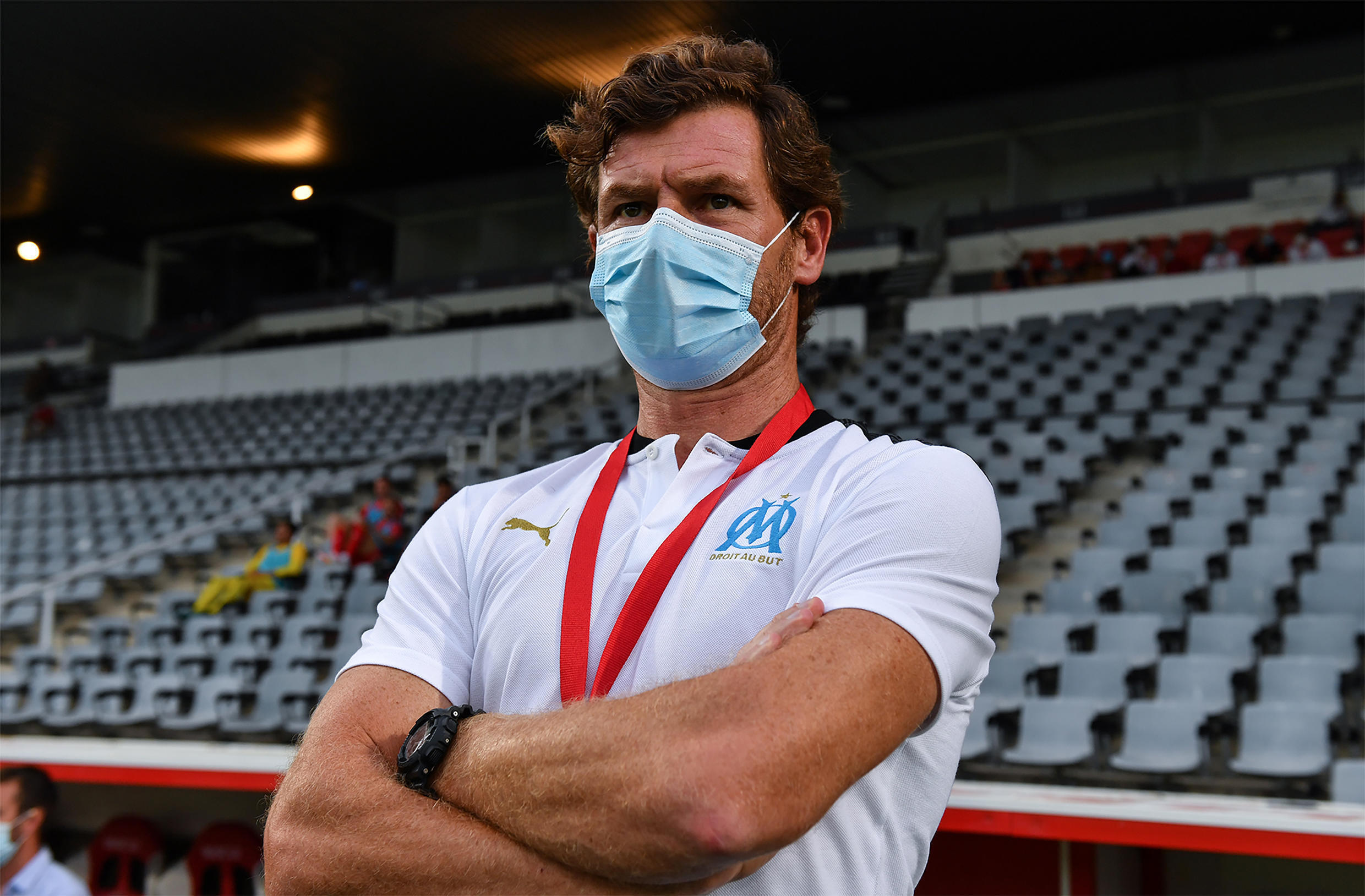 Andre Villas Boas led Marseille to second place in Ligue 1 in 2020.