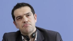 Head of Greece's radical left SYRIZA party Alexis Tsipras