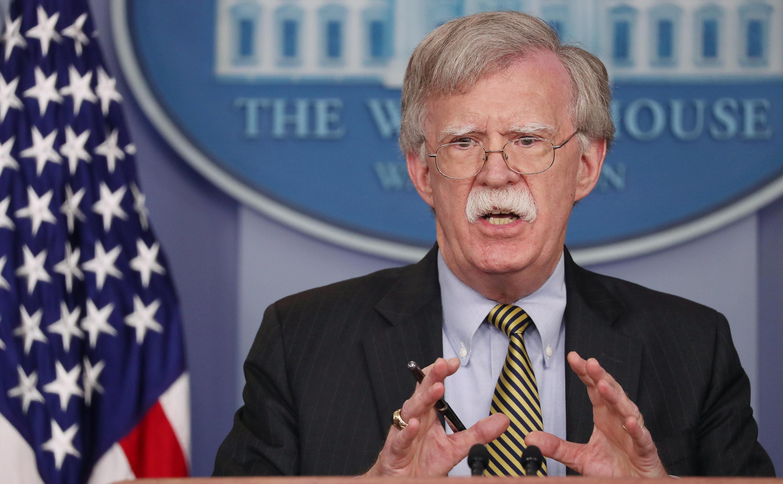 جان بولتون، مشاور رئیس جمهوری آمریکا در امور امنیت ملی
