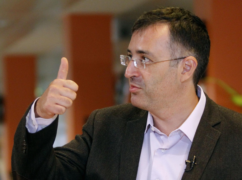 Sergei Guriev, hiệu trưởng trường kinh tế New Economic School ở Nga (REUTERS)