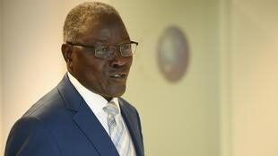 Le ministre des Affaires étrangères du Niger, Kalla Ankourao, a conduit une délégation de la Cédéao à Bissau, le 3 novembre 2019.