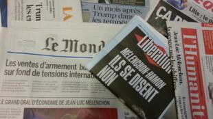 Primeiras páginas dos jornais franceses de 20 de fevereiro de 2017