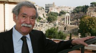El cineasta Raúl Ruiz en Roma, el 18 de octubre de 2007.