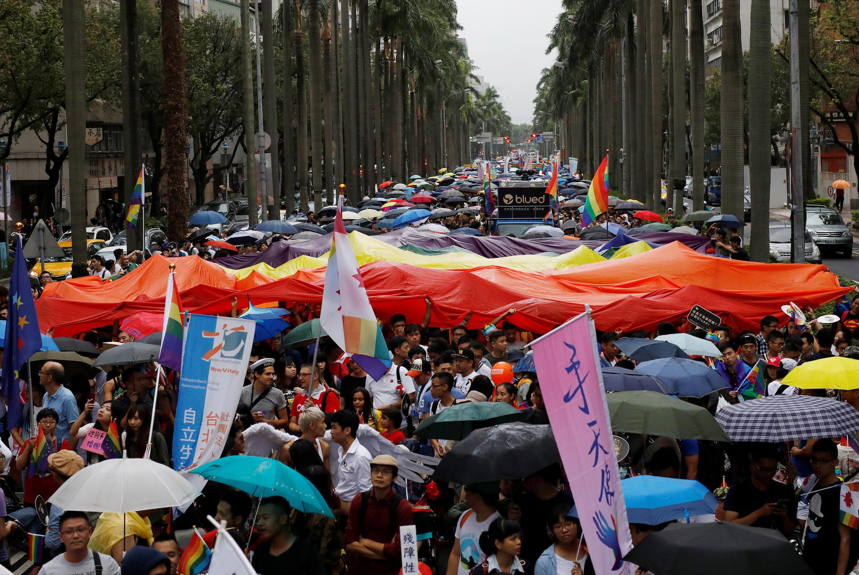2016年10月台北同性戀大遊行