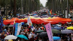 2016年10月台北同性恋大游行