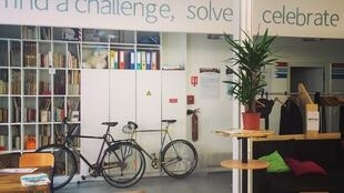 SenseSpace in Paris brings together social start-ups.
