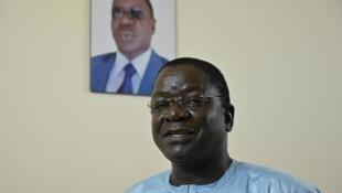 Le Premier ministre de transition tchadien Albert Pahimi Padacké à Ndjamena le 26 avril 2021.