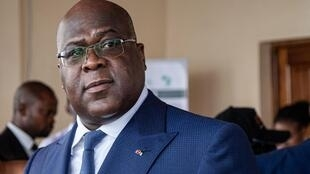Rais wa DR Congo Félix Tshisekedi.