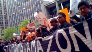 As ONGs contrárias à construção da barragem de Belo Monte teriam sido alvo de espionagem.