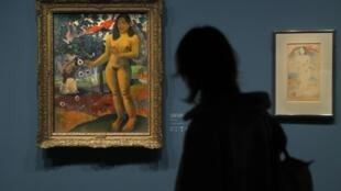 """نمایشگاه """"گوگن کیمیاگر"""" در موزه گراند پاله پاریس"""