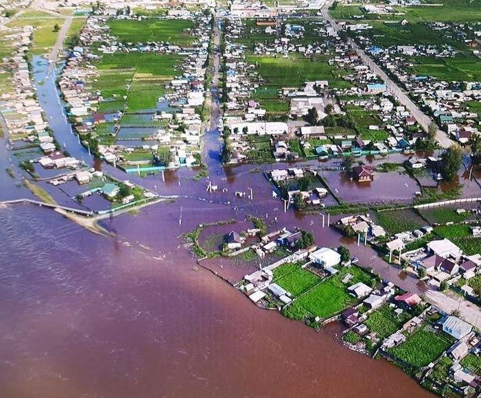 Дожди в Забайкальском крае идут вот уже вторую неделю, затоплены десятки населенных пунктов