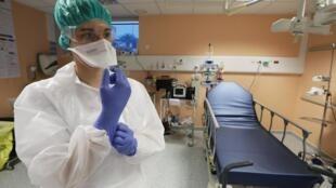 Госпиталь в Ницце.